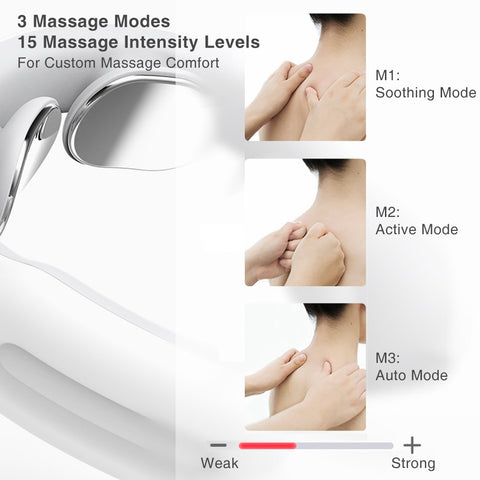 Smart Electric Pulse Neck Massager for Relaxation Pain Relief
