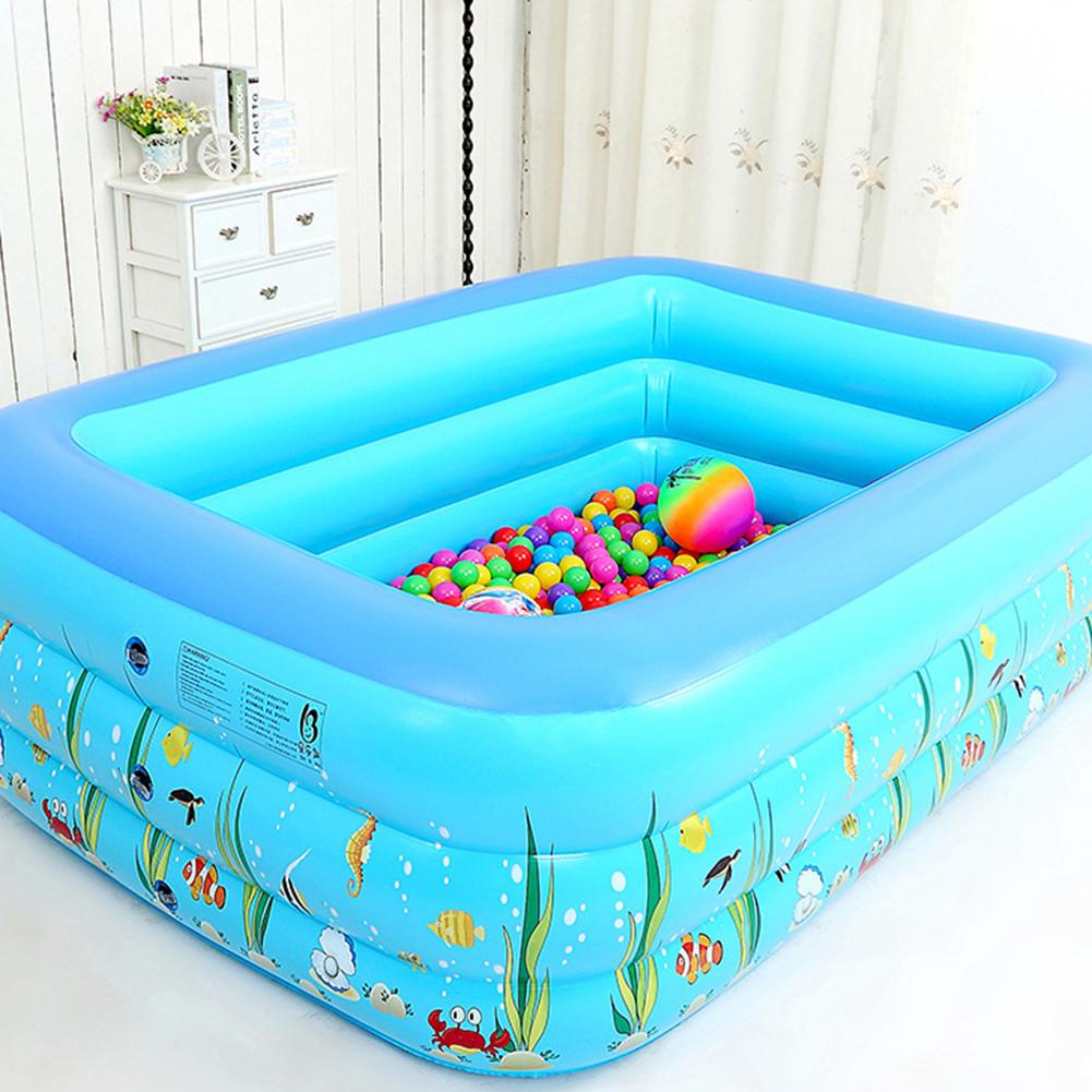 SEAYA™ Kids Inflatable Pool Home Use Children Baby Kiddies Blow Up Pool