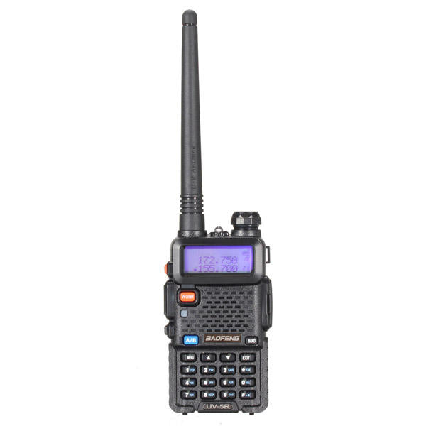 2Pcs BAOFENG UV-5R Dual Band Handheld Transceiver Radio Walkie Talkie