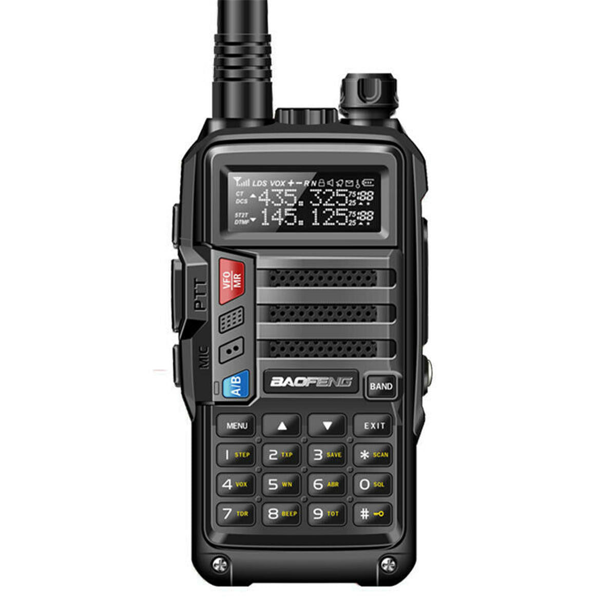 BaoFeng UV-S9 8W Two Way Radio VHF UHF Walkie Talkie CB Funk-Transceiver 10km Long Range