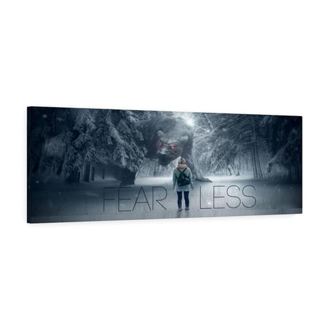 Fearless Canvas Wall Art