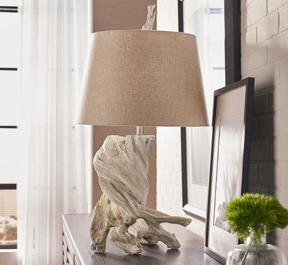 Olmsted Lamp - Whitewash