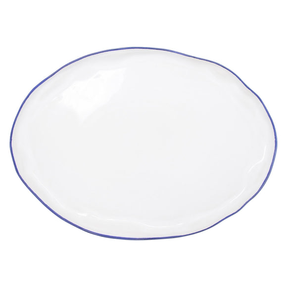 Aurora Edge Large Oval Platter