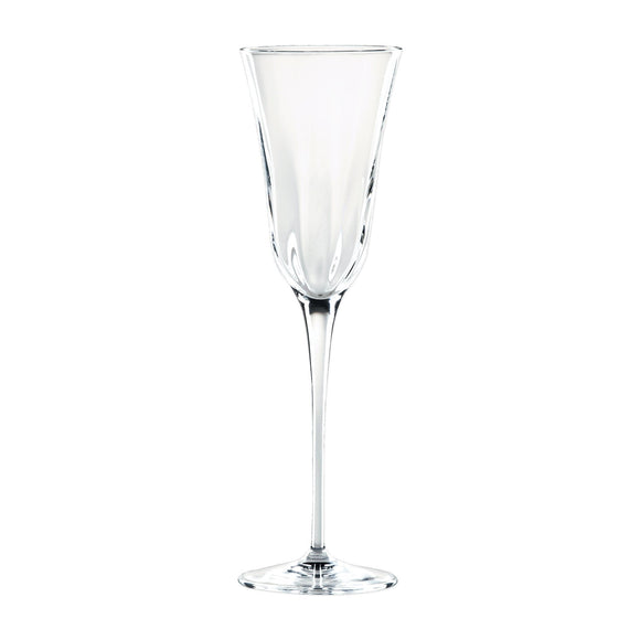 Optical Clear Champagne Glass