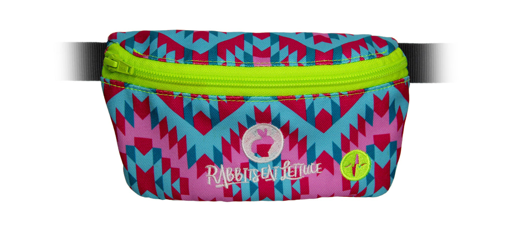 Rabbits Eat Lettuce Music Festival custom Jaunt fanny pack
