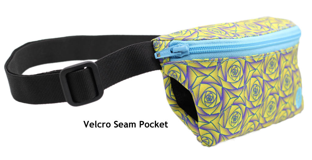 Jaunt Fanny Pack -- Velcro Seam Pocket