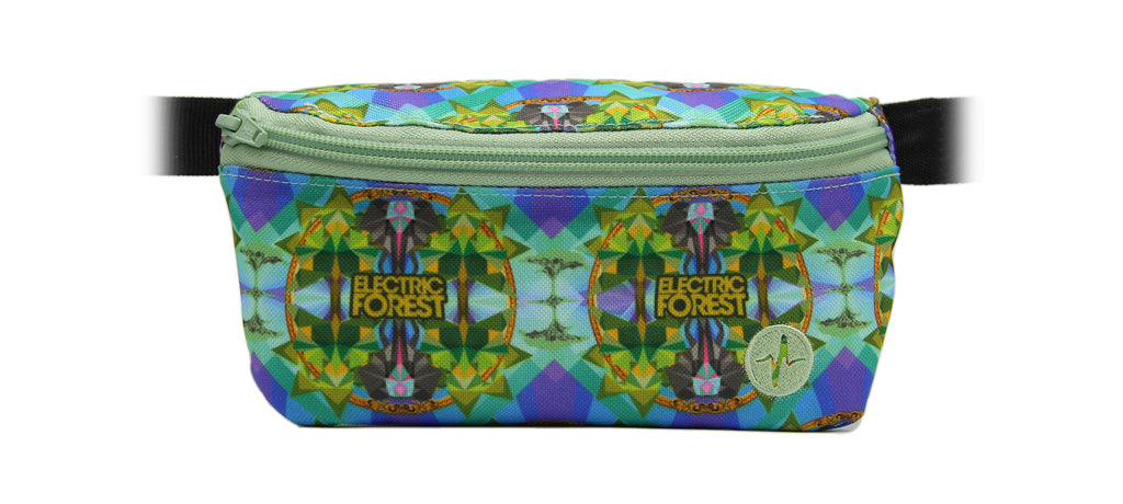 Electric Forest Festival 2017 custom Jaunt fanny pack.