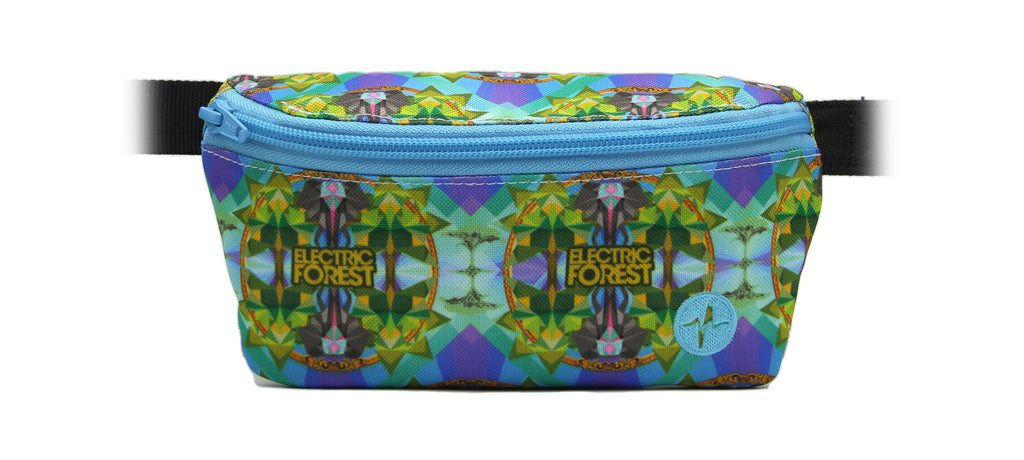 Electric Forest Festival 2017 custom Jaunt fanny pack weekend 2.