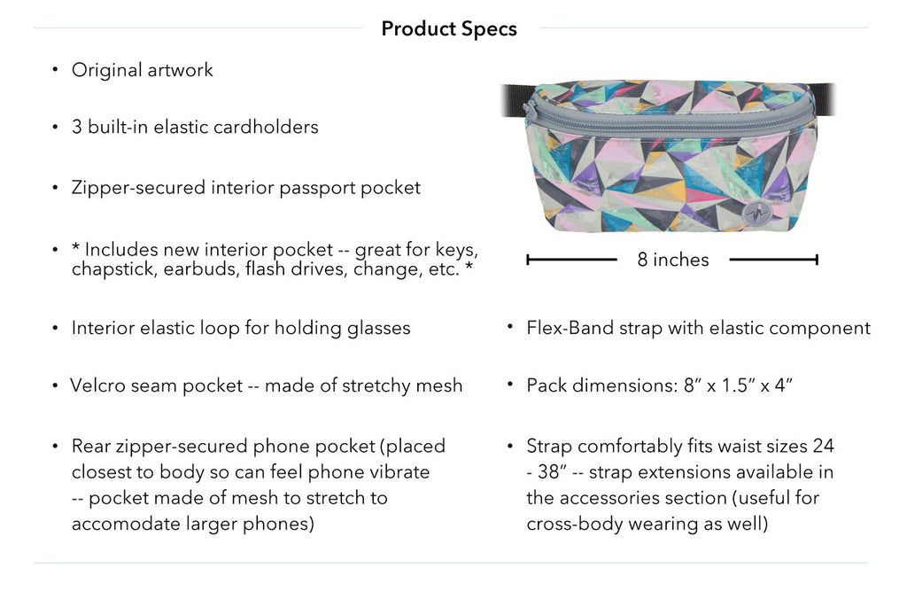 Brevity Jaunt Fanny Pack Product Specs