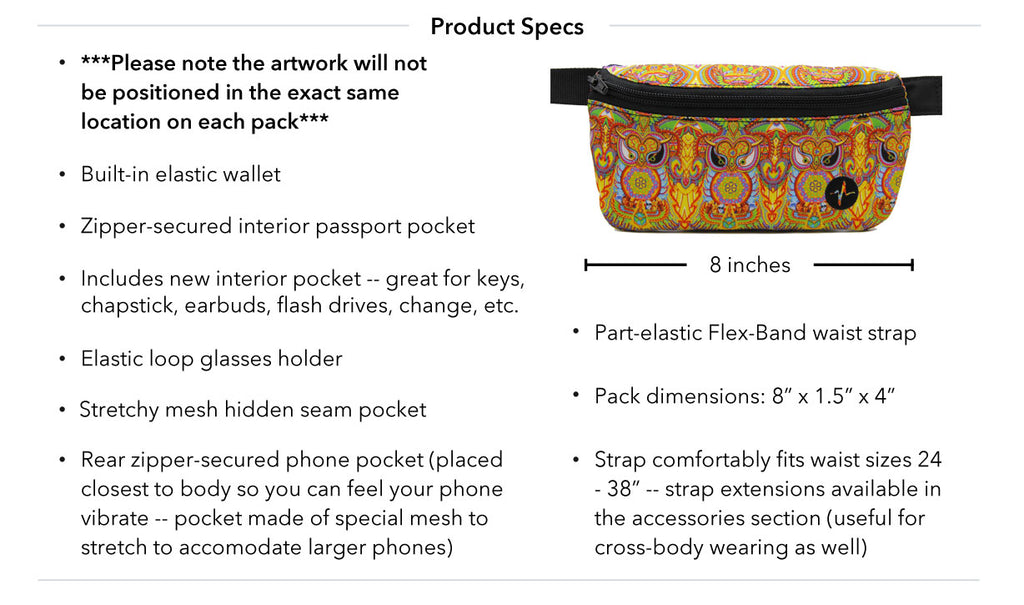 Chris Dyer Neohuman Jaunt Pack Product Specs