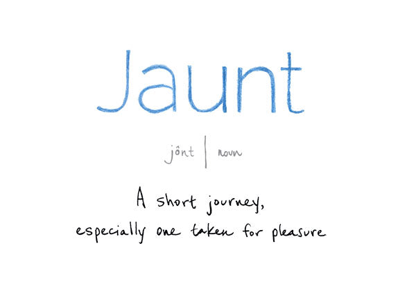 Jaunt Dictionary Definition