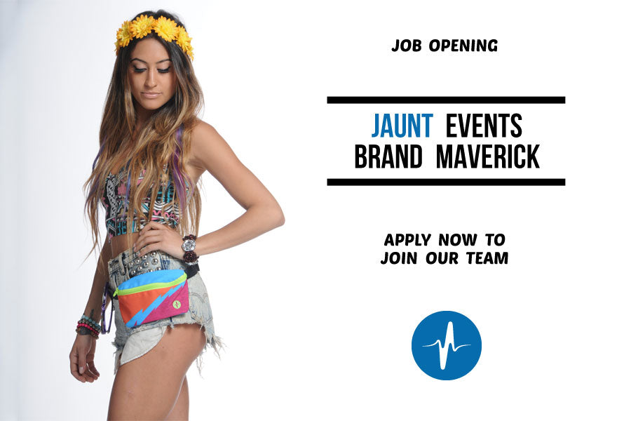Jaunt Fanny Packs - Brand Maverick Brand Ambassador - Zoo - Music Festival Join our team apply now job opening