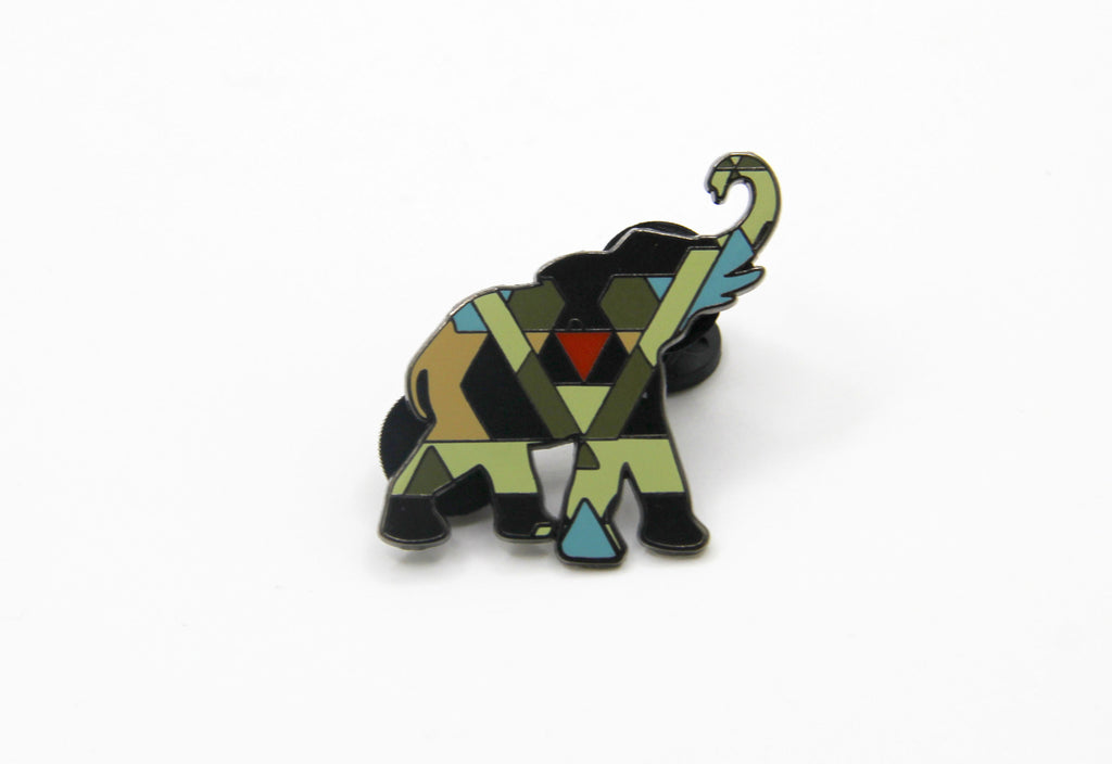 Elephant (in the Savanna) Pin