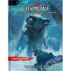D&D Icewind Dale: Rime of the Frostmaiden (Alt Cover) | CNSGames