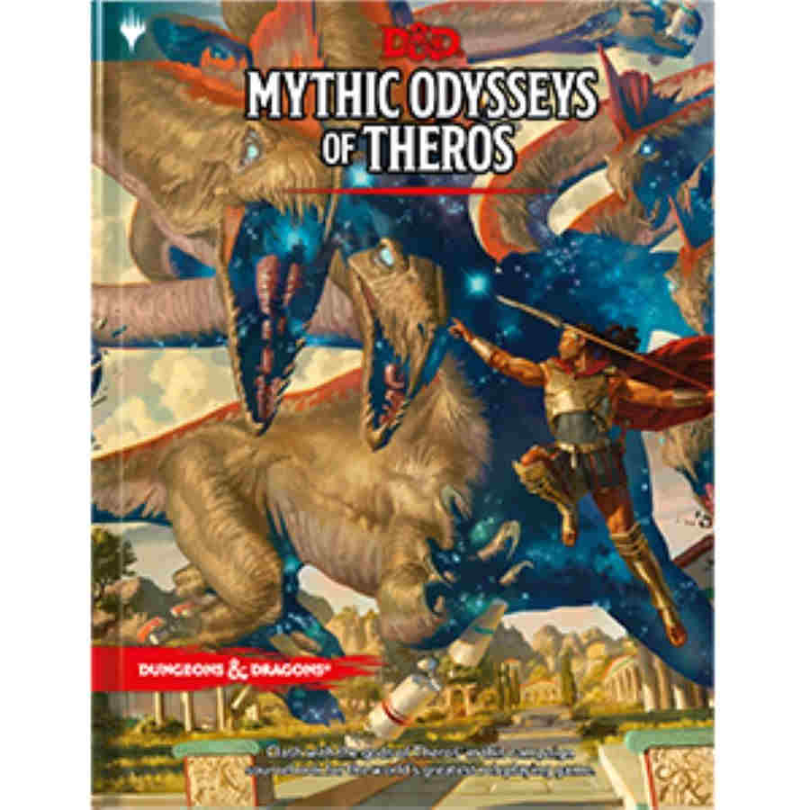D&D Mythic Odyssey's of Theros (Alternate Art Cover) | CNSGames
