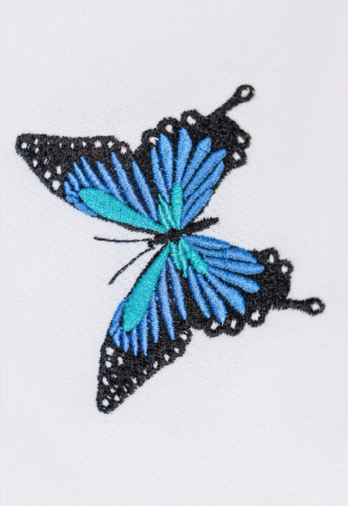 Load image into Gallery viewer, Blue Butterfly Hoodie