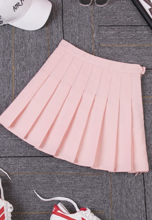 Load image into Gallery viewer, High Waisted Tennis Skirt
