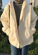 Oversized Beige Jacket