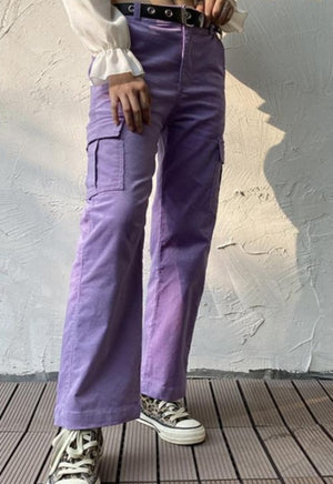 Load image into Gallery viewer, Violet Cargo Pants