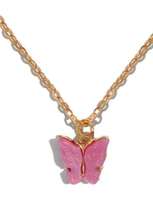 Charger l'image dans la galerie, Butterfly Chain Necklace