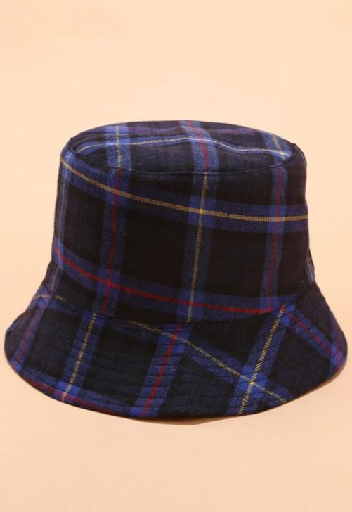 Plaid Bucket Hat