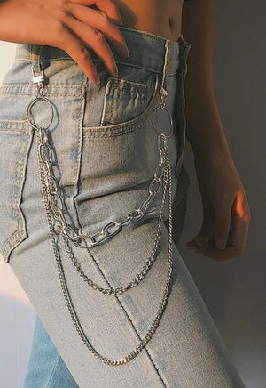 Layered Belt Chain