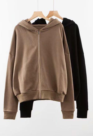Essential Zip Up Hoodie
