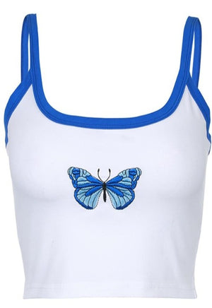 Cropped Butterfly Cami
