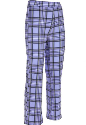 Load image into Gallery viewer, Lilac Plaid Pants