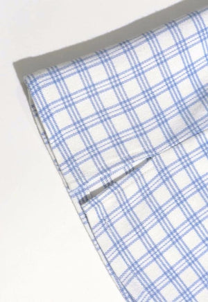Load image into Gallery viewer, Light Blue Gingham Skirt