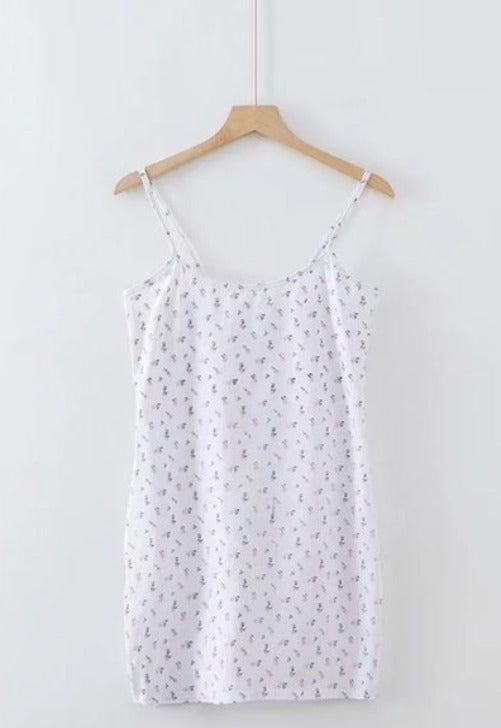 Floral Mini Cami Dress