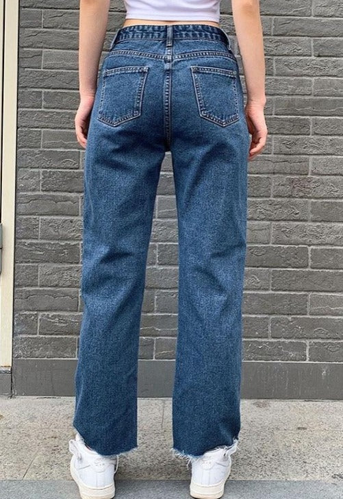 Load image into Gallery viewer, Butterfly Patch Denim Jeans