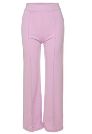 Lilac High Waisted Trousers