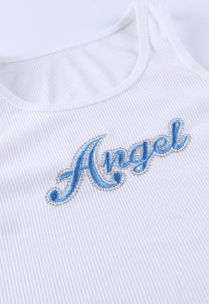 Cropped Angel Tank