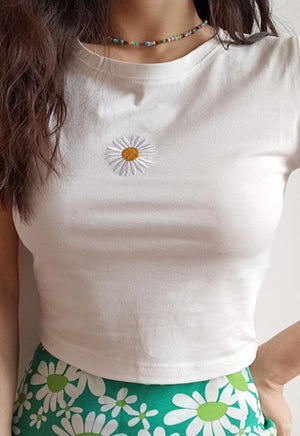 Load image into Gallery viewer, Daisy Baby Tee