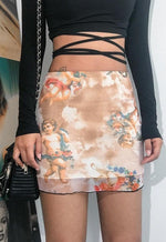 Mesh Angel Skirt