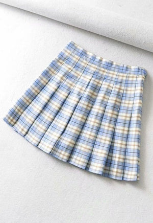Plaid Pleated Tennis Skirt