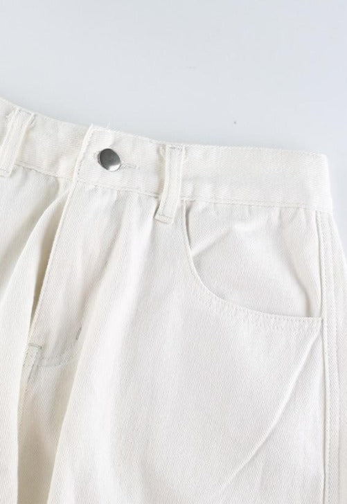 Load image into Gallery viewer, White Utility Cargo Pants