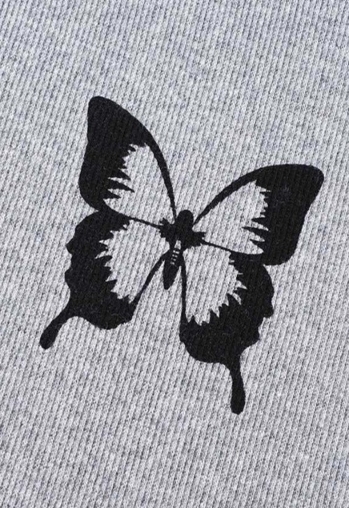 Load image into Gallery viewer, Butterfly Raglan Baby Tee