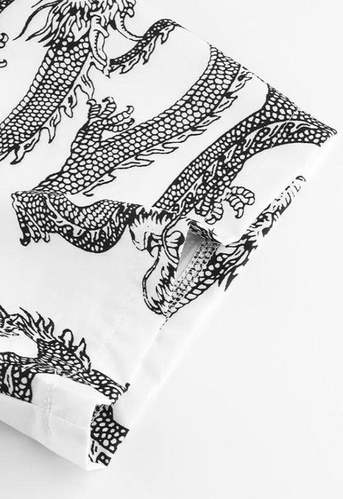 Load image into Gallery viewer, Oversized Dragon Polo Top