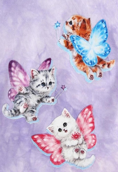 Load image into Gallery viewer, Fairy Kittens Baby Tee