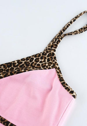 Load image into Gallery viewer, Y2K Leopard Strap Cami