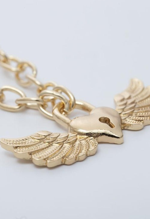 Angel Lock Necklace