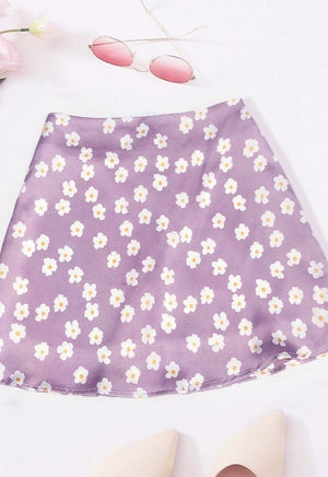 Load image into Gallery viewer, Floral Mini Skirt