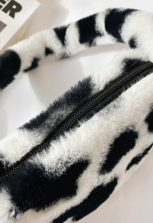 Fuzzy Mini Shoulder Bag