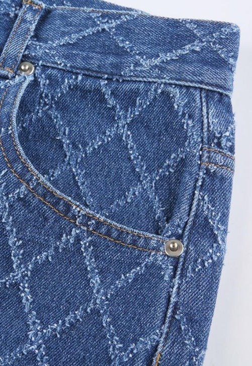 Load image into Gallery viewer, Cara High-Waisted Diamond Jeans