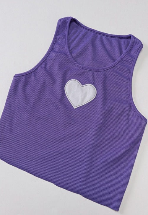 Load image into Gallery viewer, Elle Heart Baby Tank