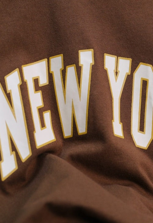 Load image into Gallery viewer, New York Brown Tee