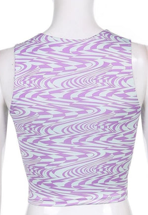 Allie Swirl Tank Top