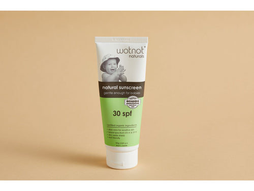 Wot Not 100g natural sunscreen for baby